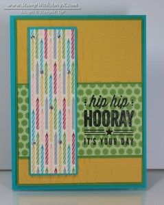 Hip Hip Hooray Card Kit 1 - Stamp With Amy K