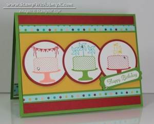 Make A Cake 1 - Stamp With Amy K