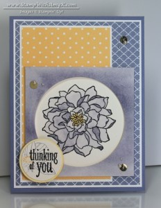 Peaceful Petals 1 - Stamp With Amy K