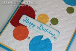 Remembering Your Birthday 3 - Stamp With Amy K