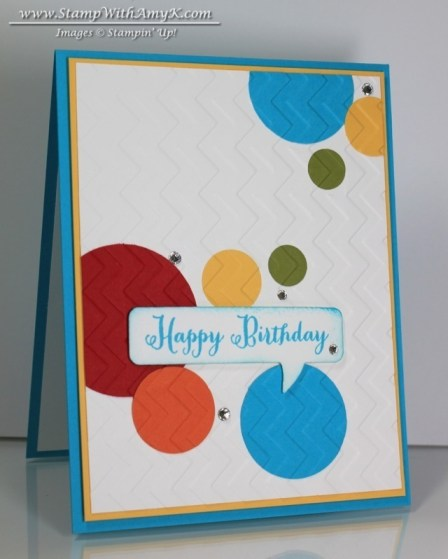 Remembering Your Birthday - Stamp With Amy K