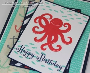 Sea Street 3 - Stamp With Amy K