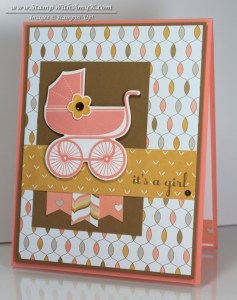 Something For Baby 1 - Stamp With Amy K