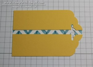 Tag Topper Punch 1 - Stamp With Amy K