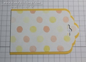 Tag Topper Punch - Stamp With Amy K