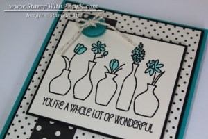 Vivid Vases 3 - Stamp With Amy K