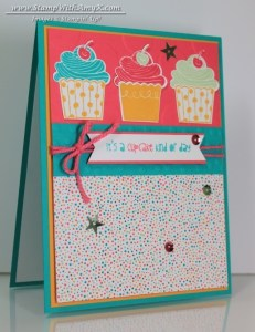 Cupcake Party 2 - Stamp With Amy K