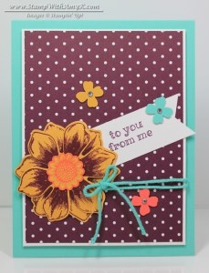 Beautiful Bunch 1 - Stamp With Amy K