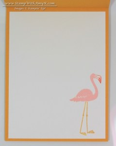 Flamingo Lingo 4 - Stamp With Amy K