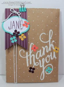 Polka Dot Gift Bags and Tag a Bag Kit - Stamp With Amy K
