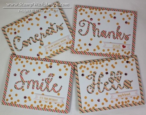 August Paper Pumpkin 1 - Stamp With Amy K