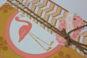 Flamingo Lingo 3 - Stamp With Amy K