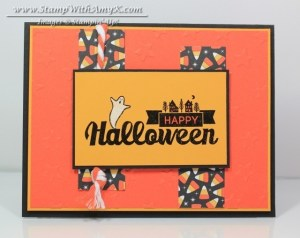 Halloween Street 1 - Stamp With Amy K