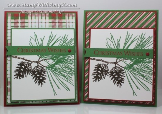 Ornamental Pine - Stamp With Amy K