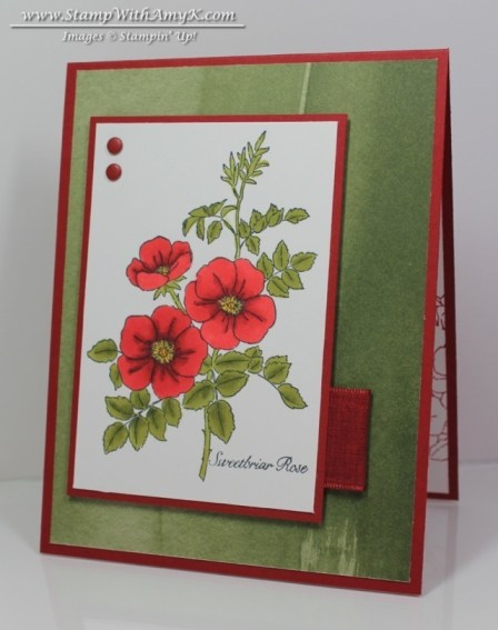Sweetbriar Rose - Stamp With Amy K