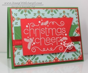 Cheerful Christmas 1 - Stamp With Amy K