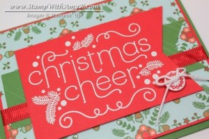 Cheerful Christmas 3 - Stamp With Amy K