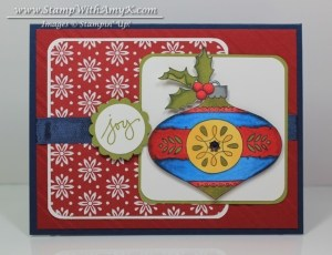 Christmas Bauble 2 - Stamp With Amy K