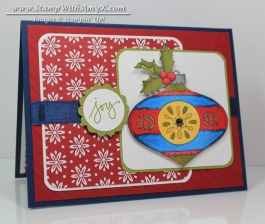 Christmas Bauble - Stamp With Amy K