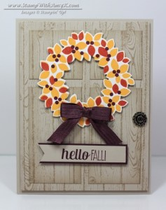 Wondrous Wreath 1 - Stamp With Amy K