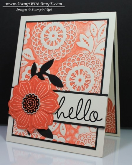 Bloom For You - Stamp With Amy K