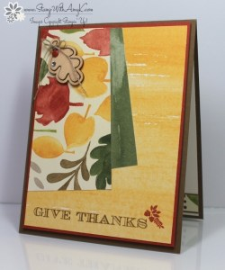 Holiday Invitation 1 - Stamp With Amy K