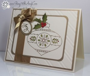 Christmas Bauble 1 - Stamp With Amy K