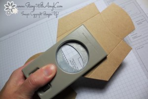 Fry Box Tutorial 4 - Stamp With Amy K