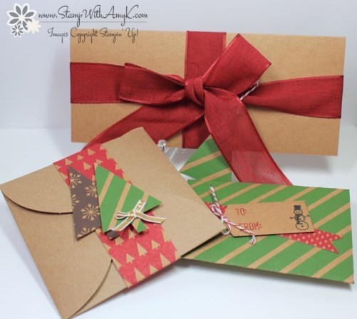 Gift Card and Money Holders - Stamp With Amy K