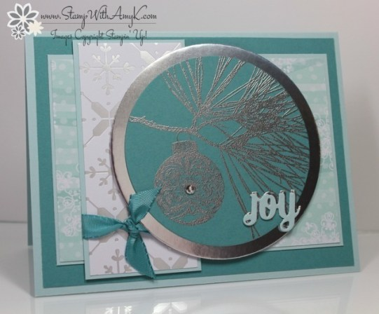 Ornamental Pine 4 - Stamp With Amy K