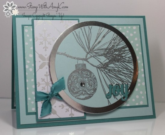 Ornamental Pine - Stamp With Amy K