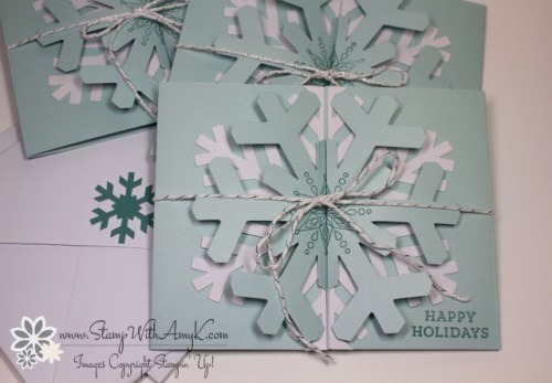 Simple Snowflake Paper Pumpkin Kit 1 - Stamp With Amy K
