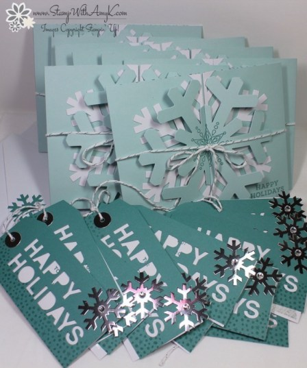 Simple Snowflake Paper Pumpkin - Stamp With Amy K