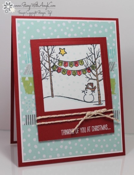 White Christmas - Stamp With Amy K