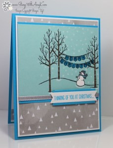 White Christmas 1 - Stamp With Amy K