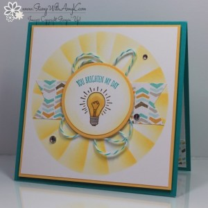 You Brighten My Day 2 - Stamp With Amy K