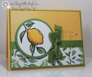 A Happy Thing 1 - Stamp With Amy K