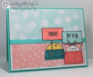 Cheerful Critters 1 - Stamp With Amy K