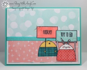 Cheerful Critters 2 - Stamp With Amy K