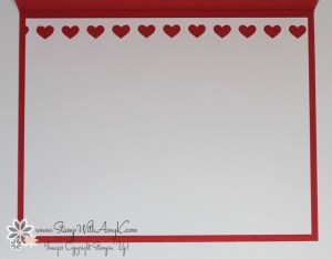 Hearts Border Punch - Stamp With Amy K