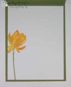 Lotus Blossom 4 - Stamp With Amy K