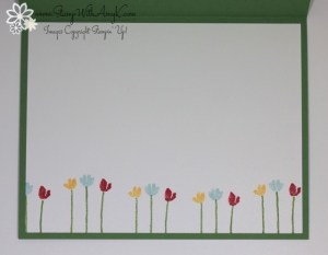 Painted Petals 4 - Stamp With Amy K