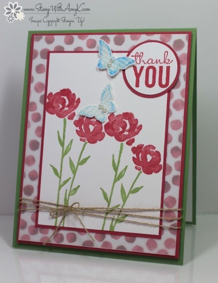 Painted Petals - Stamp With Amy K