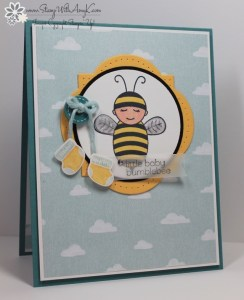 Baby Bumblebee 1 - Stamp With Amy K