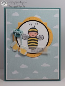 Baby Bumblebee 2 - Stamp With Amy K