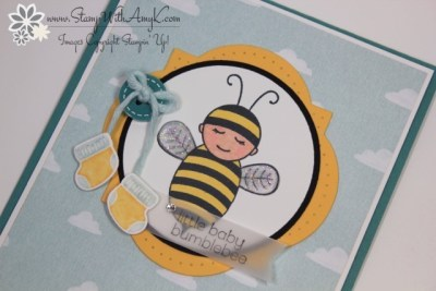 Baby Bumblebee 3 - Stamp With Amy K