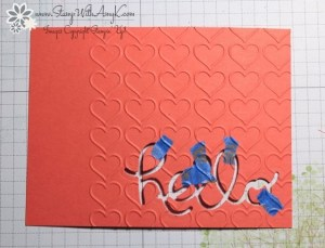 Hello You Thinlits Dies 4 - Stamp With Amy K