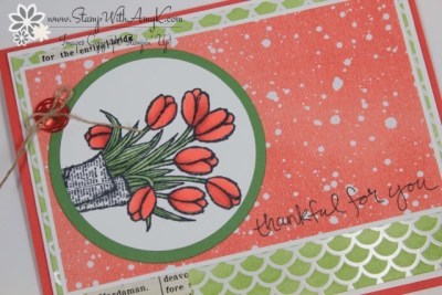 Love Is Kindness 3 - Stamp With Amy K