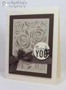 Stampin' Up! - Painted Petals 1 - Stamp With Amy K
