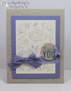 Stampin' Up! - Painted Petals 2 - Stamp With Amy K